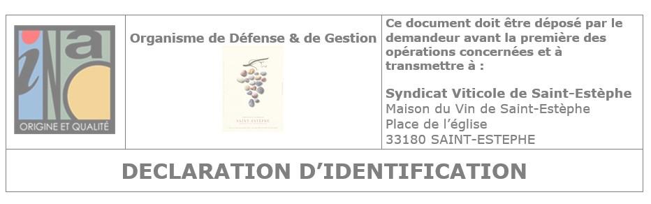 Modification ou nouvelle habilitation Saint-Estèphe