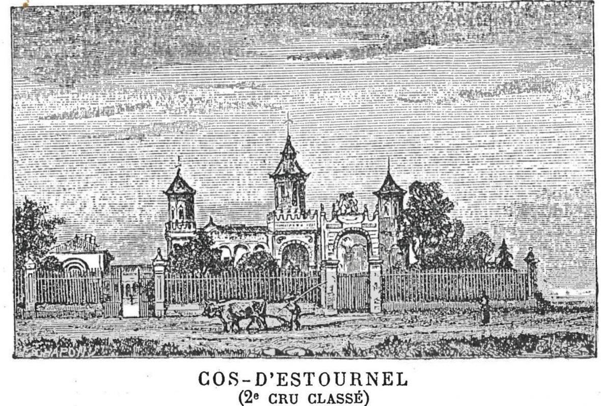Article sur le château Cos d'Estournel par ses contemporaisn