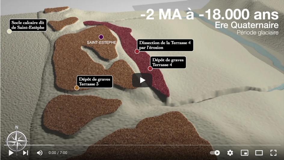 Film sur la génèse du terroir de Saint-Estèphe réalisé par Pierre le Hong